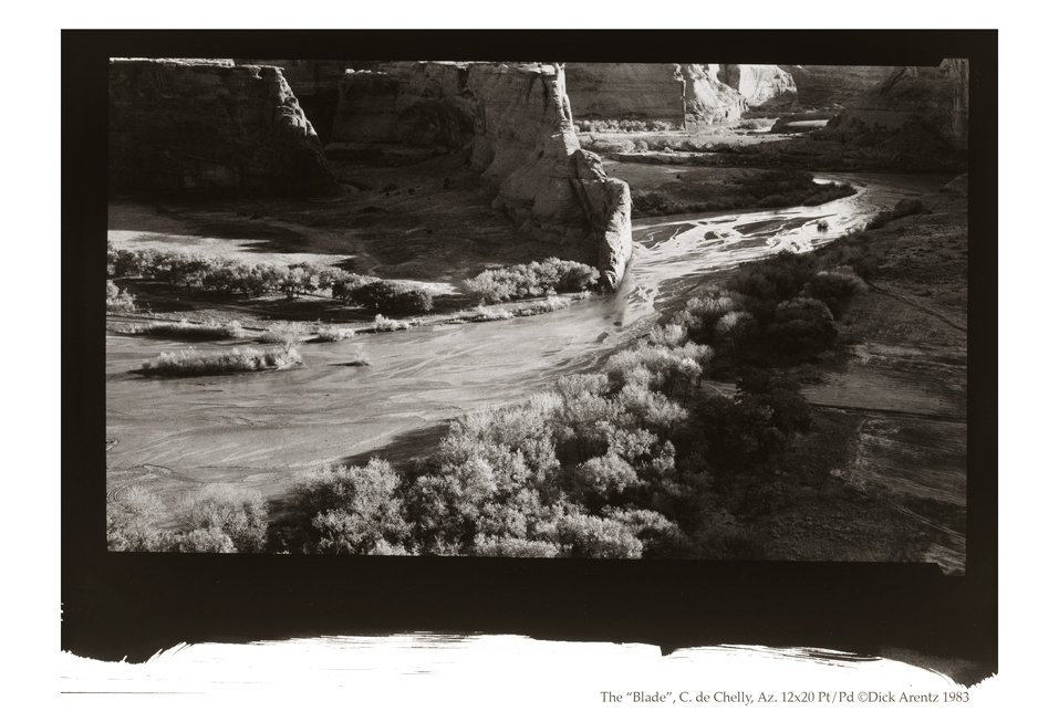 "The ""Blade"", Canyon de Chelly, Arizona"