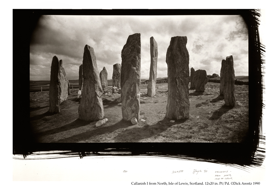 Callanish I from North, Isle of Lewis, Scotland