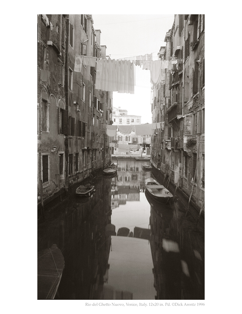 Rio del Ghetto Nuovo, Venice, Italy - The Grand Tour (back cover)
