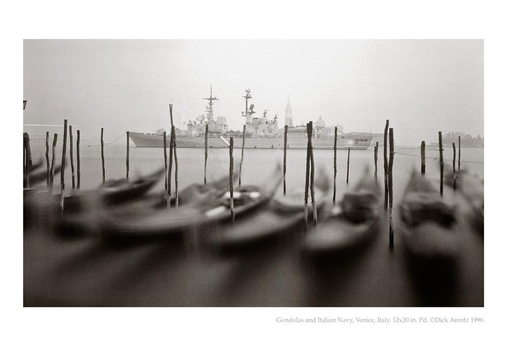 Gondolas and Italian Navy, Venice, Italy - The Grand Tour