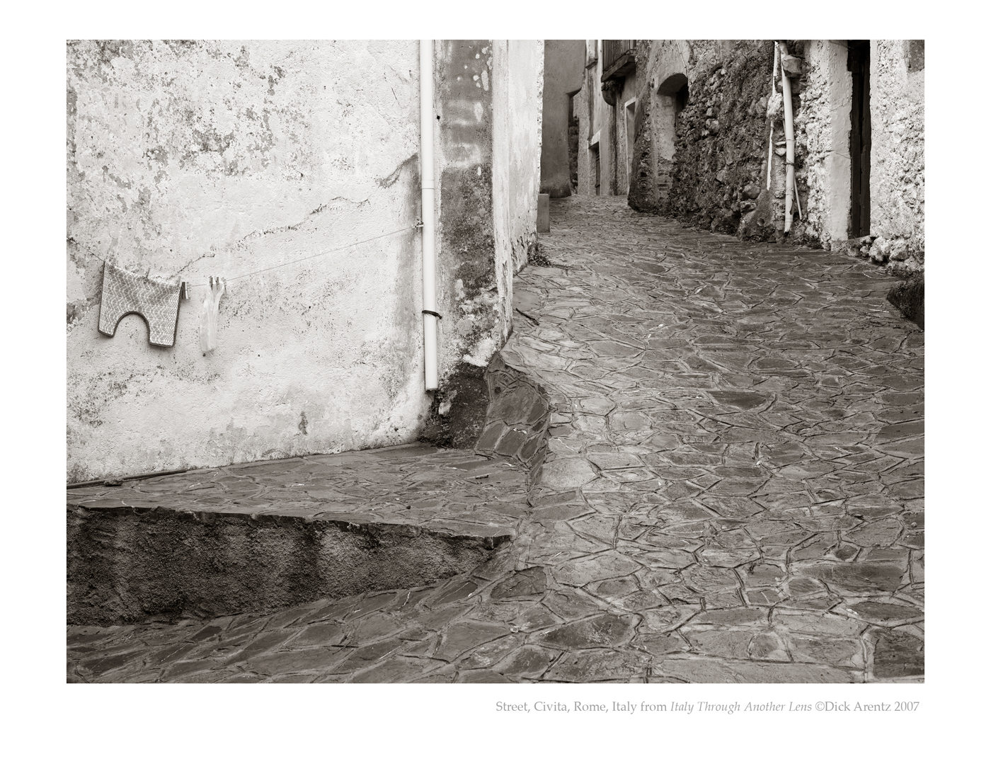 Street, Civita, Italy - Italy Through Another Lens