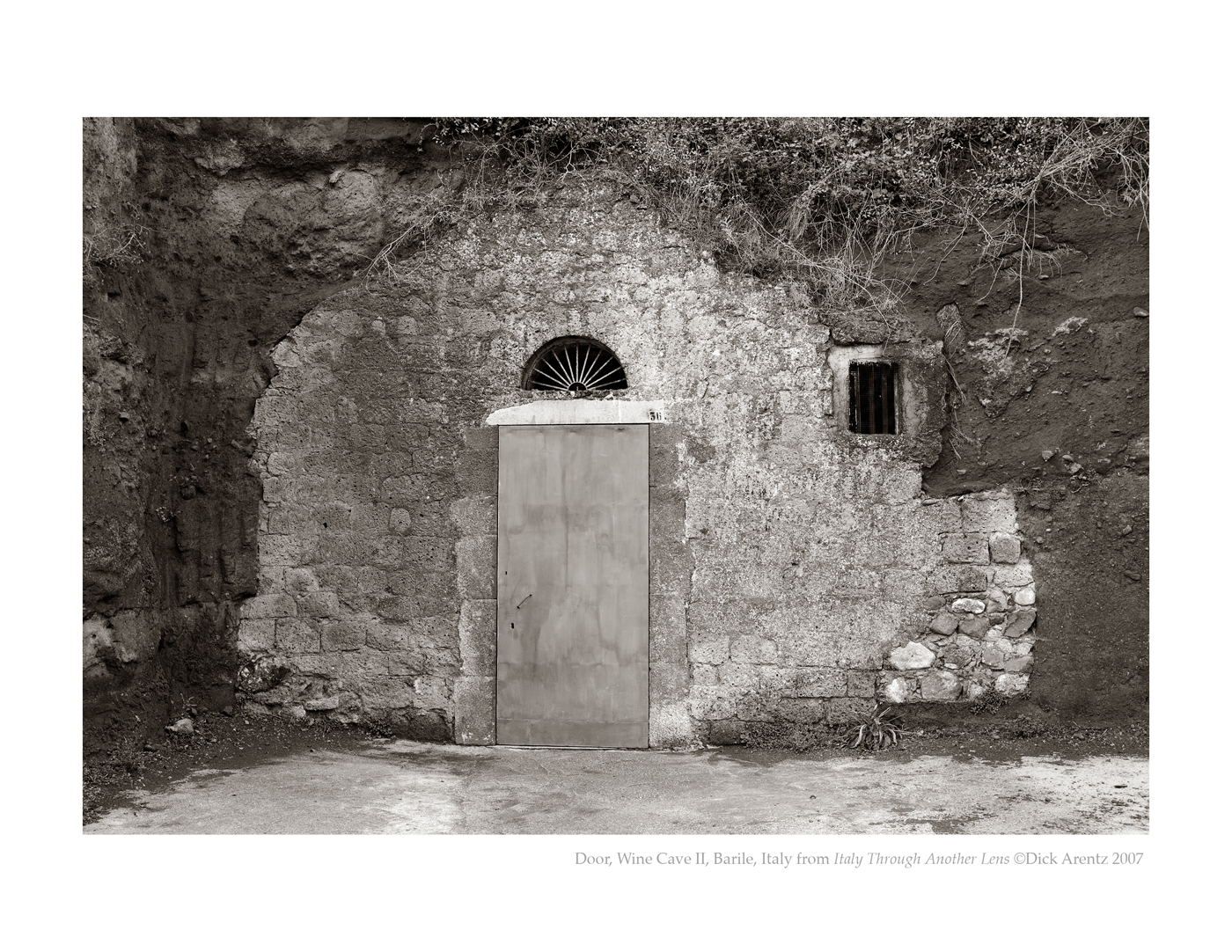 Door, Wine Cave II, Barile, Italy - Italy Through Another Lens