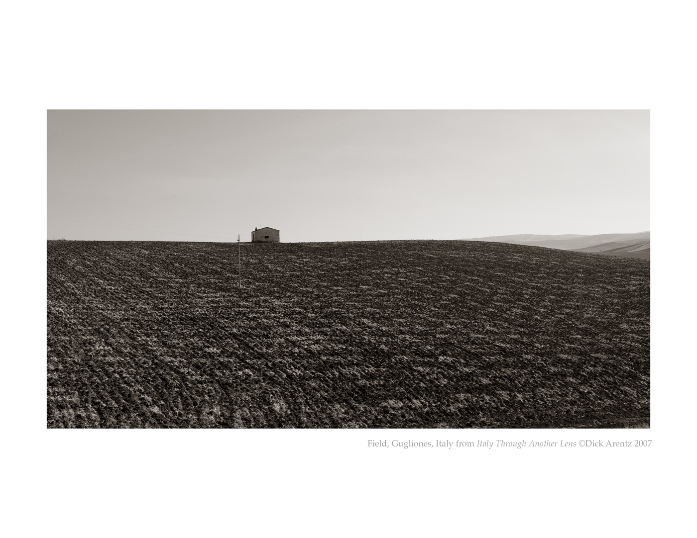Field, Gugliones, Italy - Italy Through Another Lens