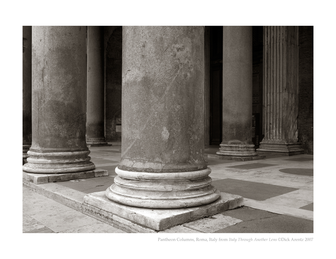 Pantheon Columns, Roma, Italy - Italy Through Another Lens