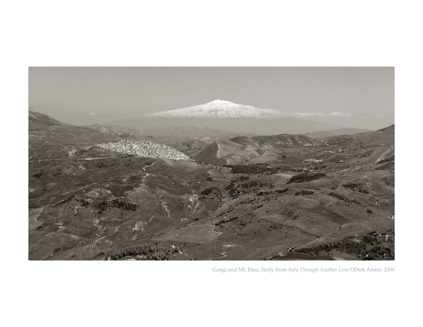 Gangi and Mt. Etna, Sicily - Italy Through Another Lens