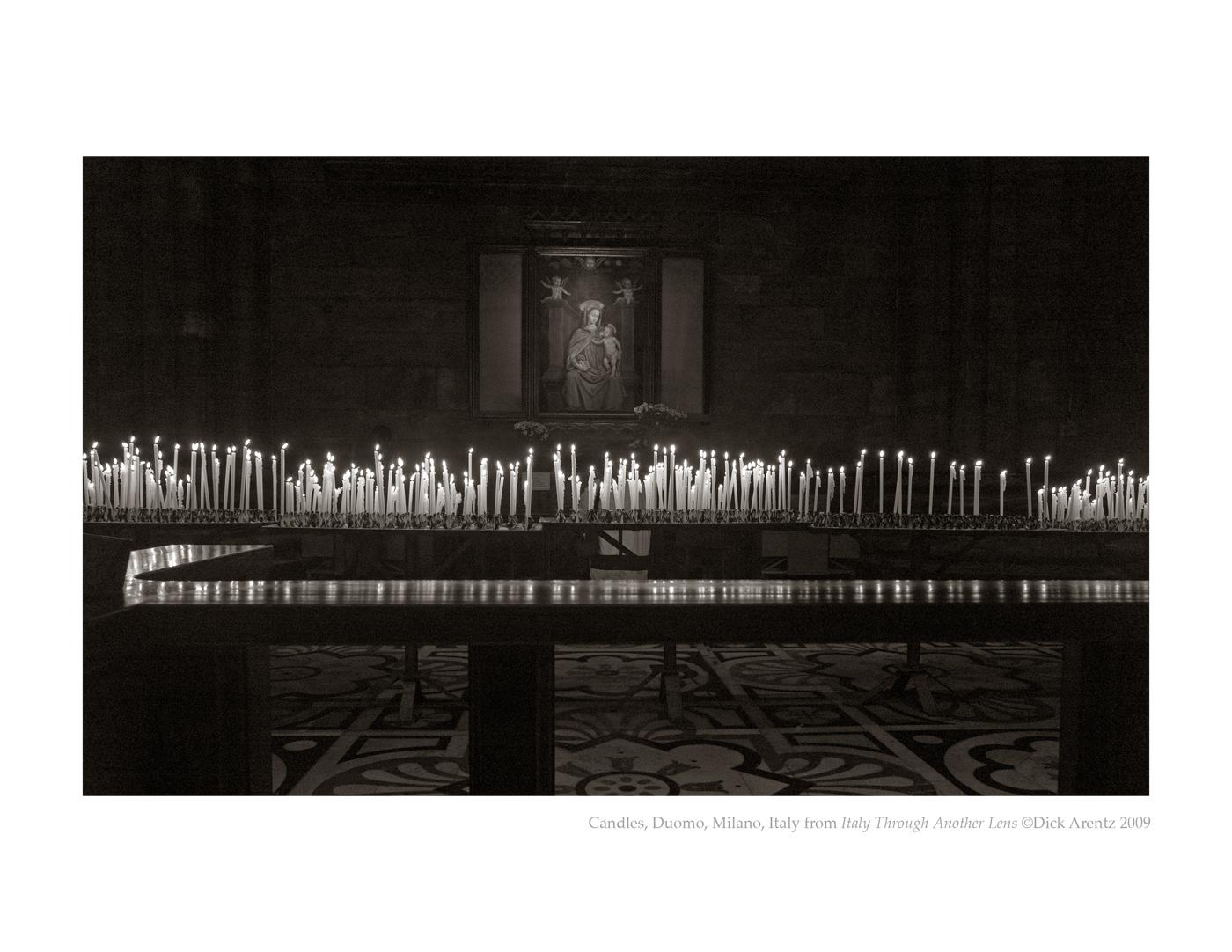 Candles, Duomo, Milano, Italy - Italy Through Another Lens