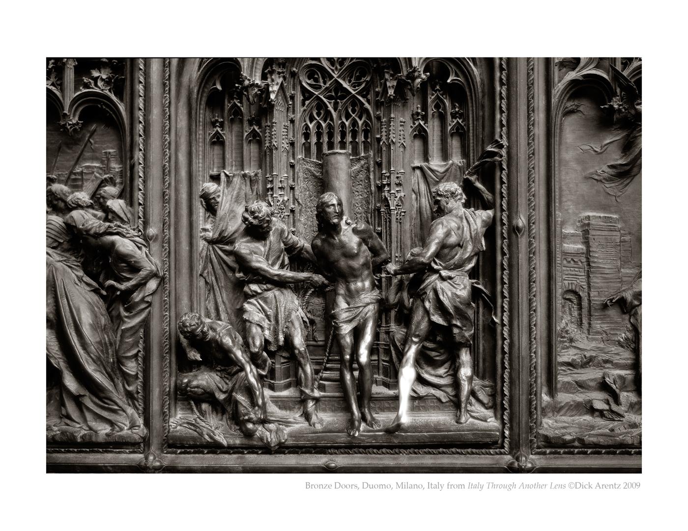 Bronze Doors, Duomo, Milano, Italy - Italy Through Another Lens