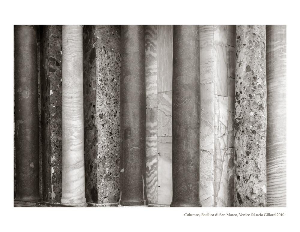 Columns, Basilica di San Marco - Venice in Winter