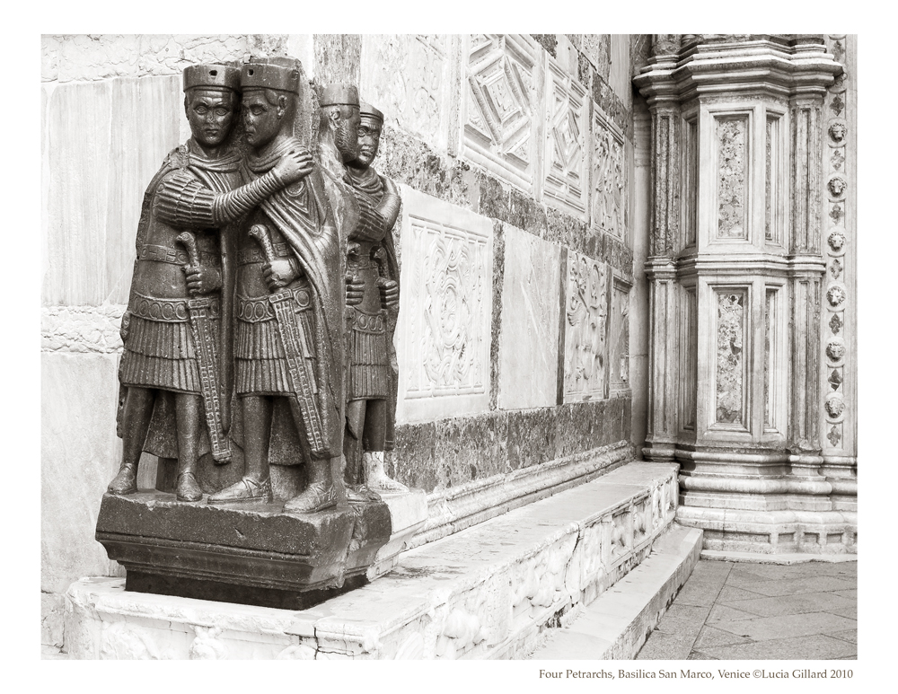 Four Petrarchs, Basilica San Marco - Venice in Winter