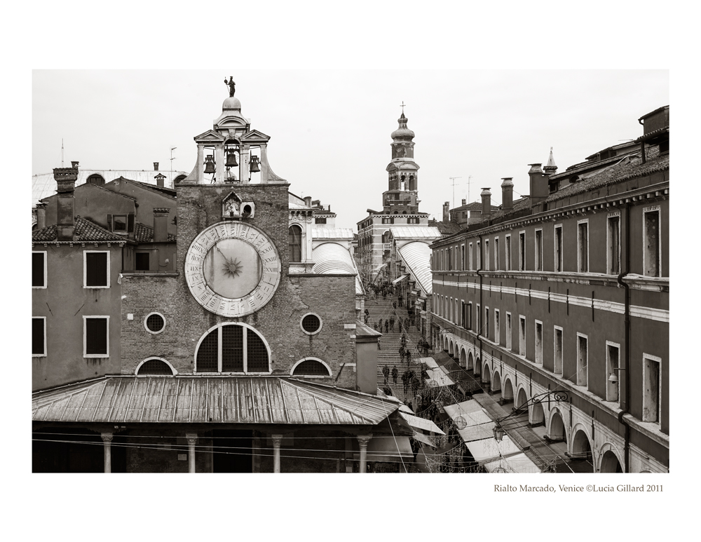 Rialto Marcado - Venice in Winter