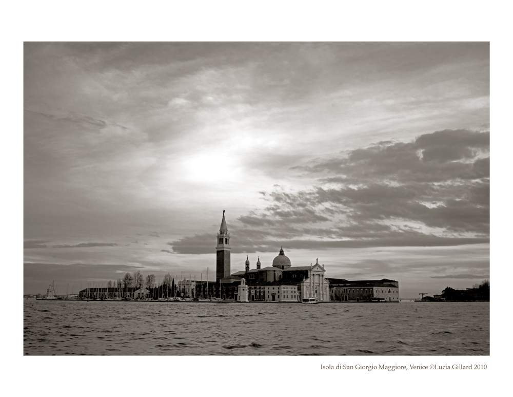 Isola di San Giorgio Maggiore - Venice in Winter