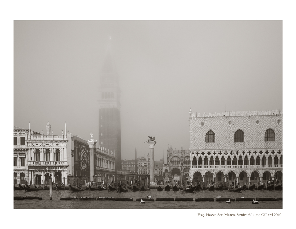 Fog, Piazza San Marco - Venice in Winter
