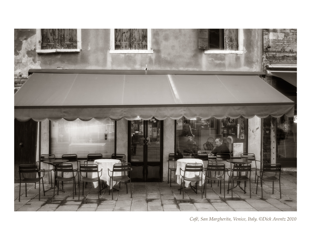 Cafe, San Margherita, Venice , Italy-2010
