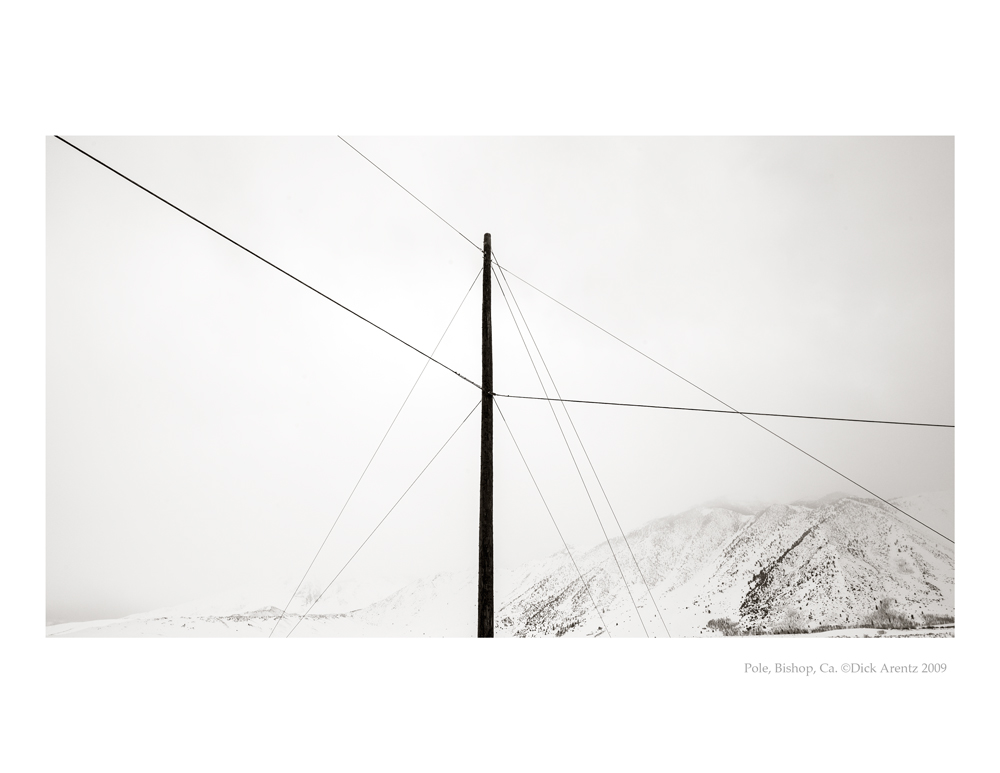 Telephone Poles, Mammoth, CA 2009