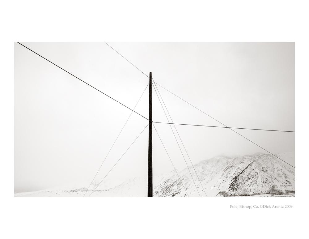Telephone Poles, Mammoth, CA 2009